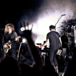 The Cure: From left, Roger O'Donnell, Robert Smith, Simon Gallup and Jason Cooper on their Reflections tour at the Beacon Theater on Friday.