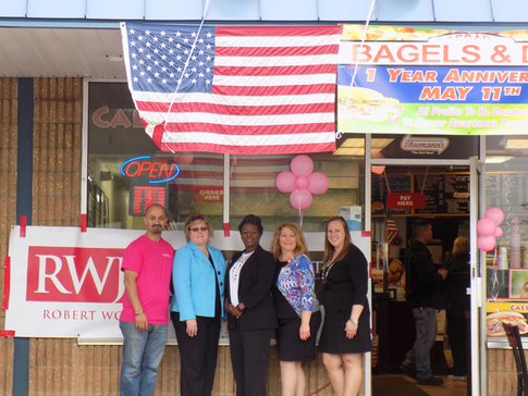 Caesar's Bagels and Deli celebrates anniversary by supporting cancer research
