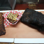 St. Louis ribs and brisket sandwiches on Texas toast are just a few of the items available at Smoke N Grill.