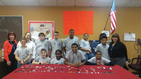 Jewelry business helps make Grice Middle School vibrant