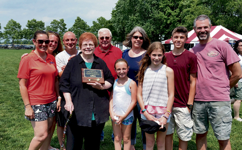 Janet Van Nest honored for 4 decades of activism in Robbinsville
