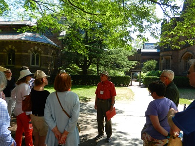 Historical Society of Princeton's university architecture tour returns