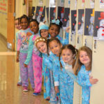 Every year on the anniversary of the 2010 Haiti earthquake, students at Trenton Catholic Academy's Lower School wear pajamas as part of a fundraiser for Christine's Hope.