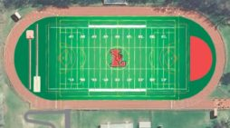 Installation of new Lawrence High School turf field begins
