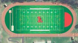 Installation of new Lawrence High School turf field begins
