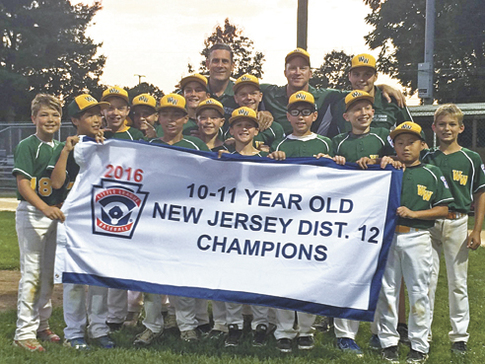 West Windsor 11-year old all stars take District 12 tournament