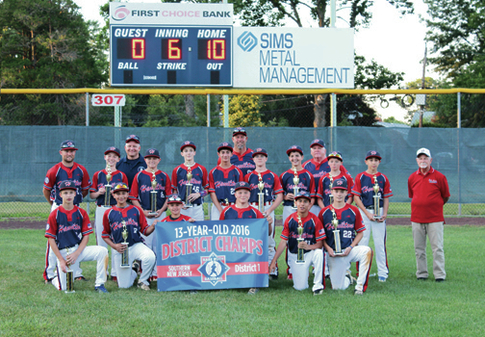 Hamilton Babe Ruth shows guts in state tourney