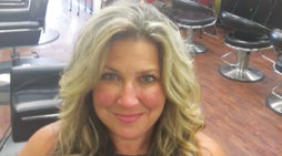 Style and color the highlights at A Cut Above Salon and Spa