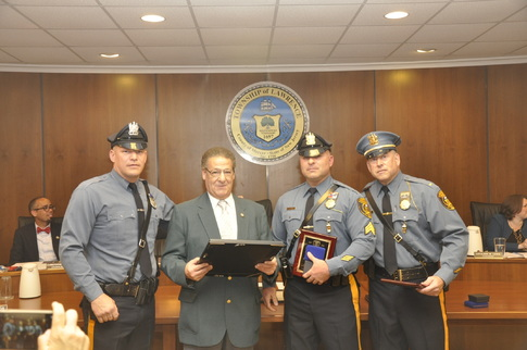 Lawrence honors officer, supervisor of the year