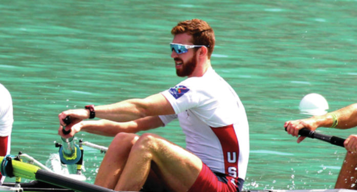 Rowing his way to Rio: Lawrence native named US Olympic alternate