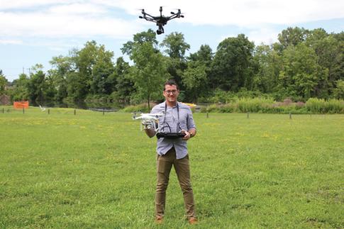 Drone photographer has an eye in the sky