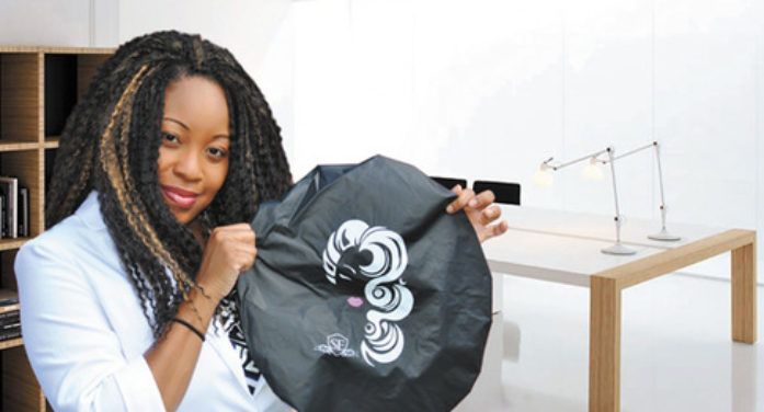 Ewing resident invents Satin Dream shower cap for women with voluminous hair