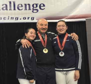 16-year-old fencer wins women's epee championship
