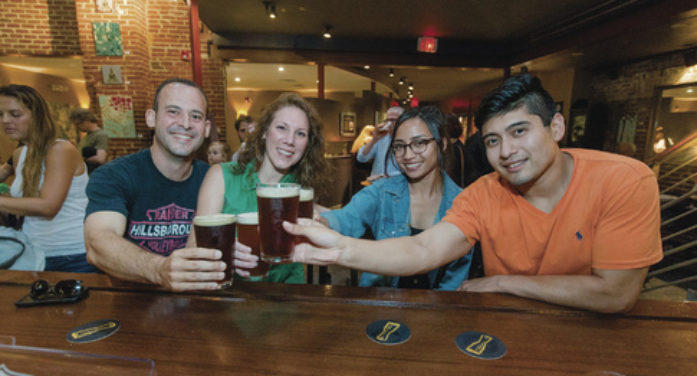 Tapping into the downtown Princeton bar scene