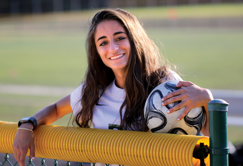 Saade looks to fill void left by her sister on WWP South girls' soccer