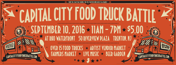 Third annual Capital City Food Truck Battle rolls into Trenton