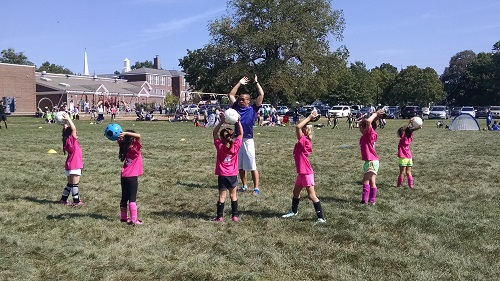 Hopewell Valley Soccer Association Rec Soccer: Week 2