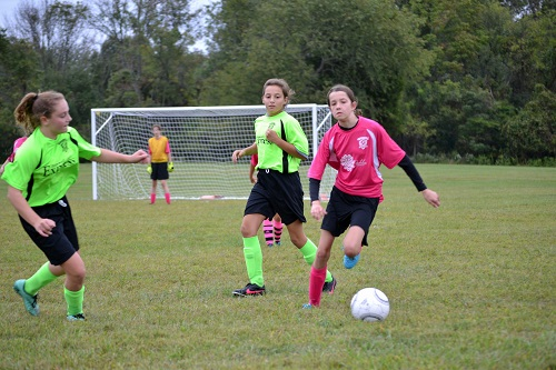 Hopewell Valley Soccer Association Rec Soccer: Week 3