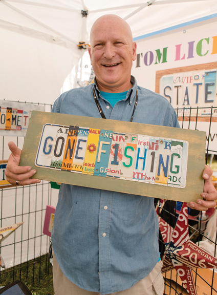 Artistic License: retired police officer finds high demand for decorative signs