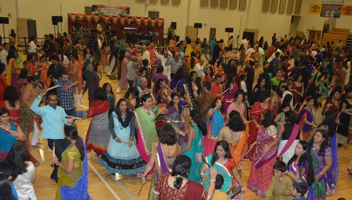 IFMP celebrates Navratri Raas Garba, Festival of Dance