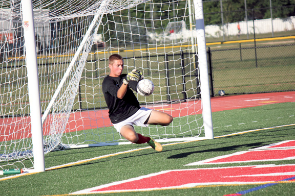 Robbinsville High netminder Romanow can reach goal by stopping goals