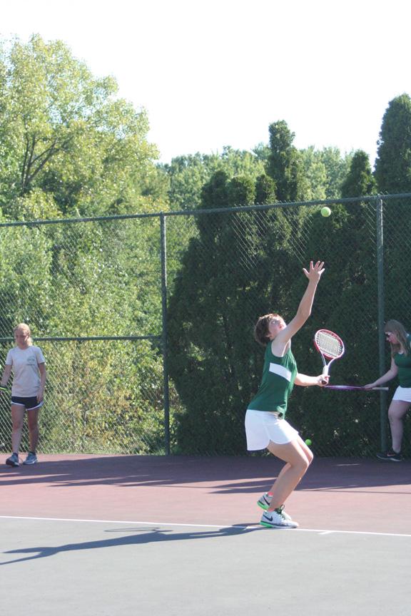 Steinert star finds outlet in tennis