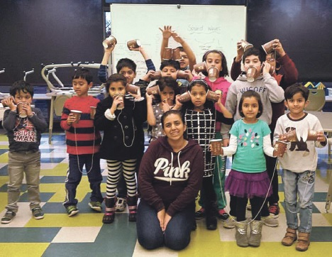 WWP South senior teaches kids to help further their education in science and math