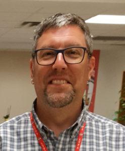 Technology Supervisor Steven Prentiss