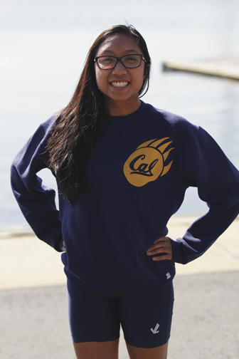 Robbinsville's Sydney Holgado will attend the University of California in the fall and compete for the rowing team. The Golden Bears won the national title last year.